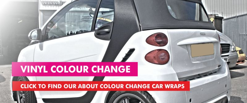 Colour Change Car Vinyl Wrap Newton Abbot