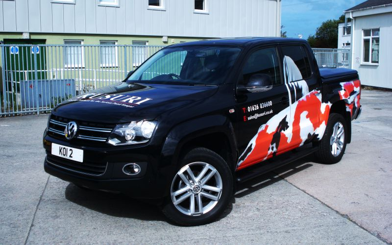 Fleet Vehicle Graphics Newton Abbot