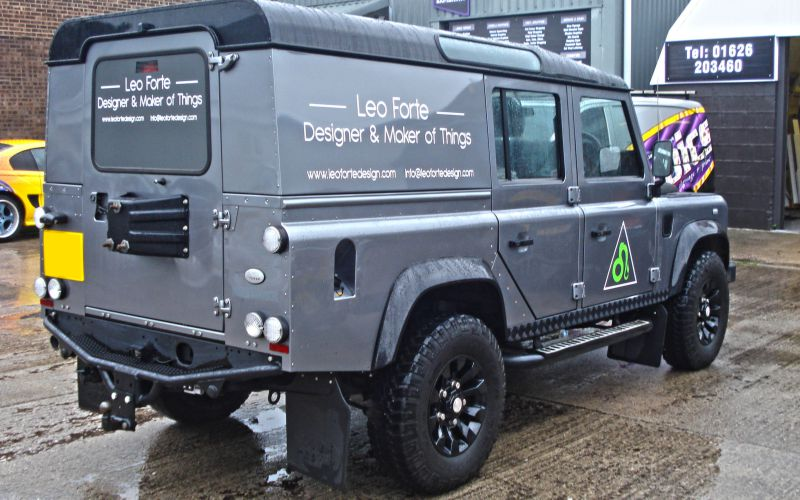 Leo Forte Vehicle Graphics by Lazerpics in Newton Abbot