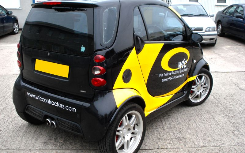 WFC Vehicle Graphics by Lazerpics in Newton Abbot