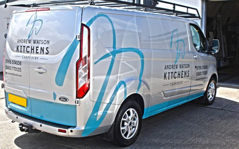 Transit Custom Vehicle Graphics by Lazerpics in Newton Abbot