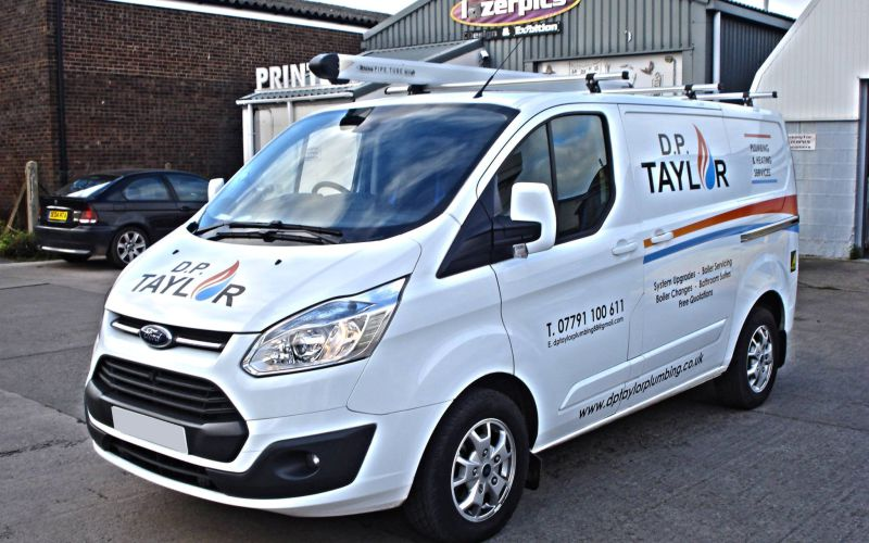 DP Taylor Vehicle Graphics by Lazerpics in Newton Abbot